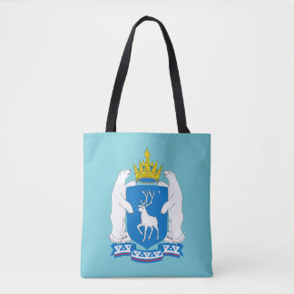 Coat of arms of  Yamal-Nenetsia Tote Bag