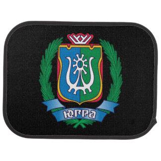 Coat of arms of  Yugra Car Mat