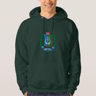 Coat of arms of  Yugra Hoodie