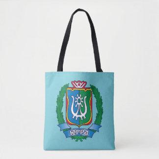 Coat of arms of  Yugra Tote Bag