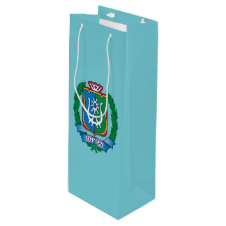 Coat of arms of  Yugra Wine Gift Bag