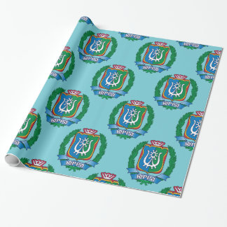 Coat of arms of  Yugra Wrapping Paper