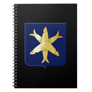 Coat of arms of Zandvoort Notebook