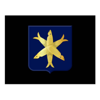 Coat of arms of Zandvoort Postcard