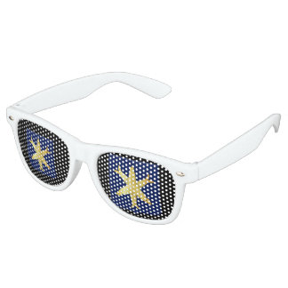 Coat of arms of Zandvoort Retro Sunglasses