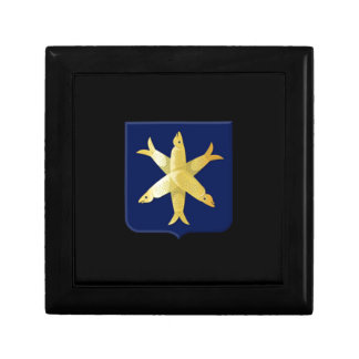 Coat of arms of Zandvoort Small Square Gift Box