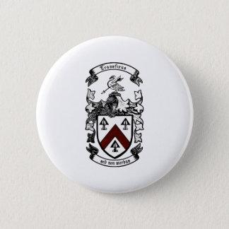 Coat of arms - Transfixus sed non morbus (redchev) 6 Cm Round Badge