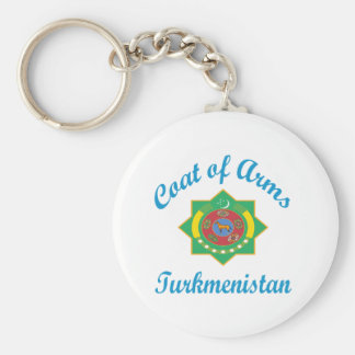 Coat Of Arms Turkmenistan Key Chains