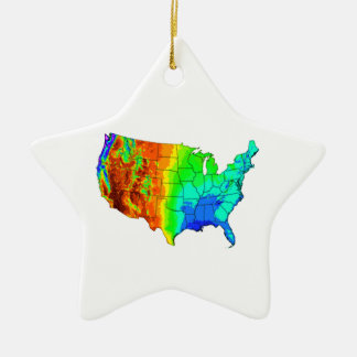 Coat of Many Colors Ceramic Ornament