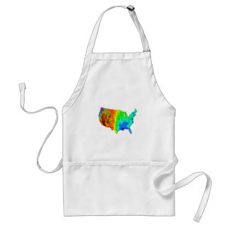 Coat of Many Colors Standard Apron