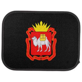 Coat of of Chelyabinsk Car Mat