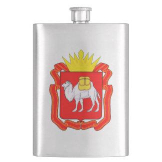Coat of of Chelyabinsk Hip Flask