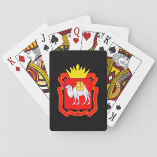 Coat of of Chelyabinsk Playing Cards