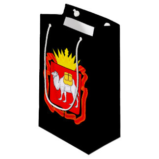 Coat of of Chelyabinsk Small Gift Bag
