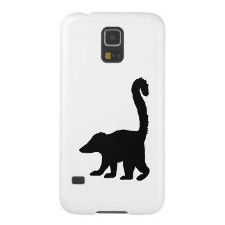 Coati Silhouette Galaxy S5 Case