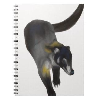 Coati Spiral Notebook