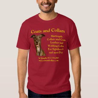 Coats and Collars, Greyhound Tee Shirt