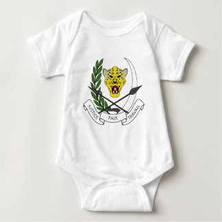 Coats_of_arms_of_Zaire_(1971-1997) Baby Bodysuit