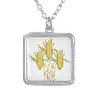 Cob Mob Silver Plated Necklace