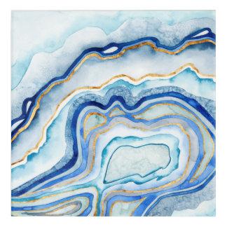 Cobalt Agate II Acrylic Print
