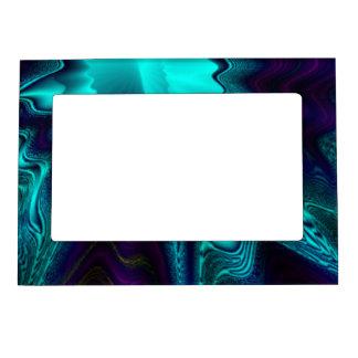 Cobalt Blue Agate Magnetic Picture Frame