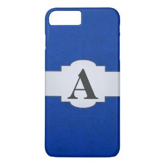 Cobalt Blue Color Velvet Custom Home Casino iPhone 7 Plus Case