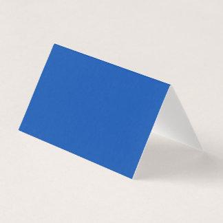 Cobalt Blue Folded Card