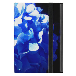 Cobalt Blue Hydrangea Cover For iPad Mini