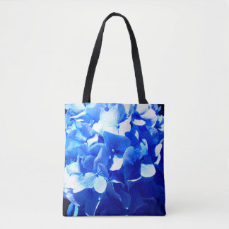 Cobalt Blue Hydrangea Tote Bag