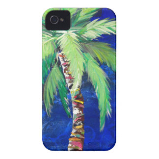 Cobalt Blue Palm II iPhone 4 Cover