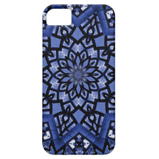 Cobalt blue pattern iPhone 5 cases