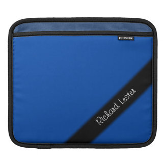 Cobalt Blue Personal iPad Sleeve