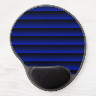 Cobalt Blue Stripe Gel Mouse Pad