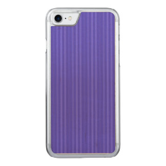 Cobalt Blue Vertical Stripes Carved iPhone 8/7 Case