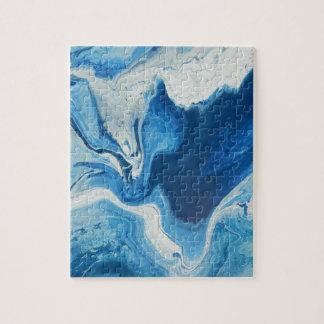 Cobalt Jigsaw Puzzle