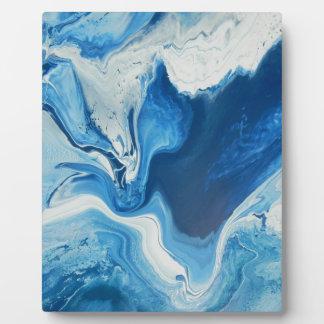 Cobalt Plaque