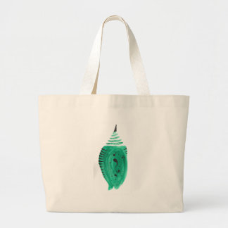 Cobalt Turquoise Cocoon Large Tote Bag