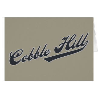 Cobble Hill Card