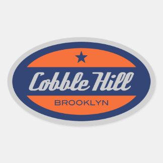 Cobble Hill Oval Sticker