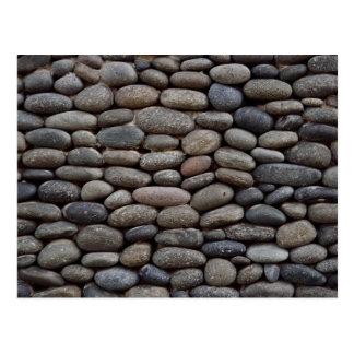 Cobble stone postcard