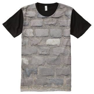 Cobble Stones All-Over Print T-Shirt