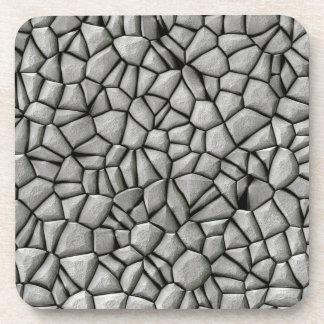 Cobble stones surface coaster