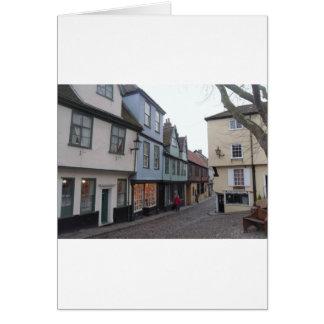 Cobbled Street Card