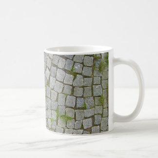 Cobblestone Road Texture Background Coffee Mug