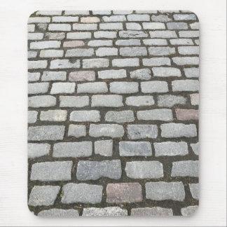 Cobblestone Stone Garden Pathway Sidewalk Photo Mouse Pad