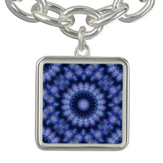 Cobolt Blue Mandala Charm