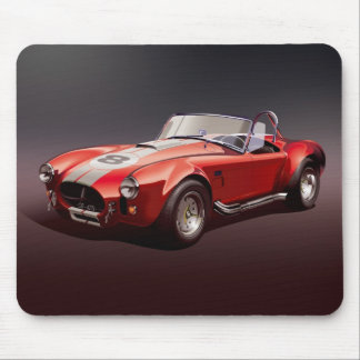 Cobra-427s red Mouse pad