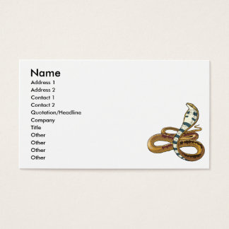 cobra business card