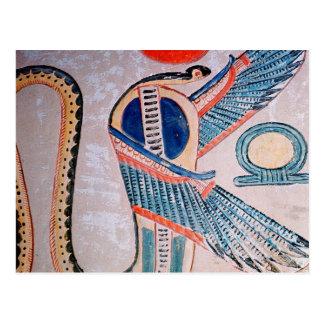 Cobra god, Egyptian Postcard