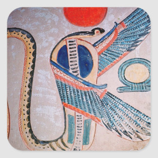 Cobra god, Egyptian Square Sticker
